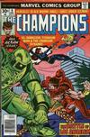 Cover for The Champions (Marvel, 1975 series) #9 [Regular Edition]