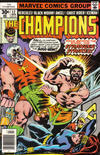 Cover for The Champions (Marvel, 1975 series) #12 [Regular Edition]