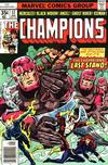 Cover for The Champions (Marvel, 1975 series) #17