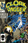 Cover for Cloak and Dagger (Marvel, 1985 series) #1 [Direct Edition]