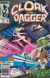 Cover for Cloak and Dagger (Marvel, 1985 series) #5 [Newsstand Edition]