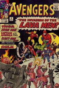Cover Thumbnail for The Avengers (Marvel, 1963 series) #5 [Regular Edition]