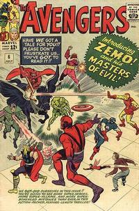 Cover Thumbnail for The Avengers (Marvel, 1963 series) #6
