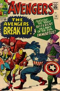 Cover Thumbnail for The Avengers (Marvel, 1963 series) #10
