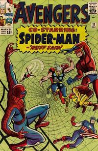 Cover Thumbnail for The Avengers (Marvel, 1963 series) #11