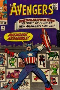 Cover Thumbnail for The Avengers (Marvel, 1963 series) #16