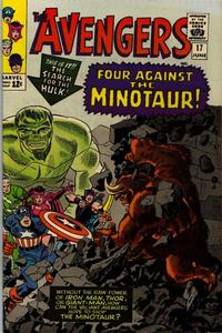 Cover Thumbnail for The Avengers (Marvel, 1963 series) #17