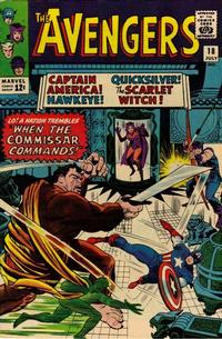 Cover Thumbnail for The Avengers (Marvel, 1963 series) #18