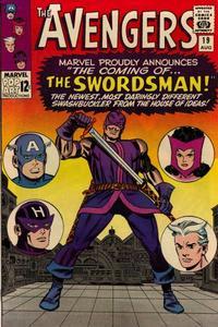 Cover Thumbnail for The Avengers (Marvel, 1963 series) #19 [Regular Edition]