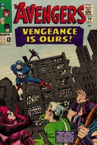 Cover Thumbnail for The Avengers (Marvel, 1963 series) #20 [Regular Edition]