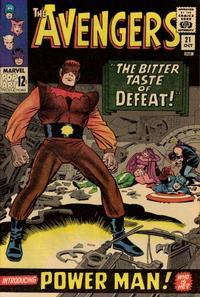 Cover Thumbnail for The Avengers (Marvel, 1963 series) #21 [Regular Edition]