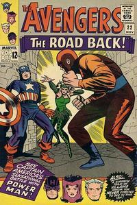 Cover Thumbnail for The Avengers (Marvel, 1963 series) #22 [Regular Edition]