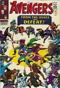 Cover Thumbnail for The Avengers (Marvel, 1963 series) #24 [Regular Edition]