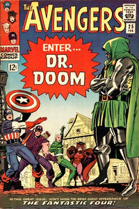 Cover Thumbnail for The Avengers (Marvel, 1963 series) #25 [Regular Edition]