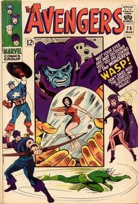 Cover Thumbnail for The Avengers (Marvel, 1963 series) #26 [Regular Edition]
