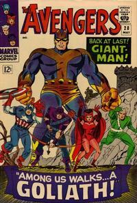 Cover Thumbnail for The Avengers (Marvel, 1963 series) #28 [Regular Edition]