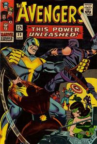 Cover Thumbnail for The Avengers (Marvel, 1963 series) #29 [Regular Edition]