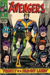 Cover Thumbnail for The Avengers (Marvel, 1963 series) #30 [Regular Edition]