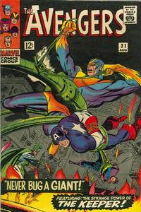 Cover Thumbnail for The Avengers (Marvel, 1963 series) #31 [Regular Edition]