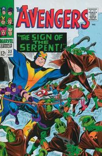 Cover Thumbnail for The Avengers (Marvel, 1963 series) #32 [Regular Edition]