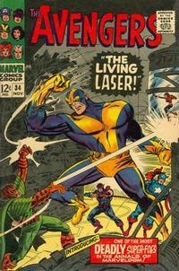 Cover Thumbnail for The Avengers (Marvel, 1963 series) #34