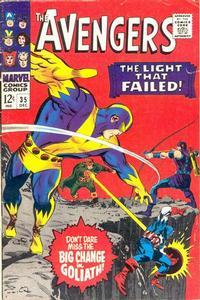Cover Thumbnail for The Avengers (Marvel, 1963 series) #35 [Regular Edition]