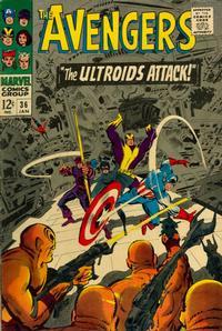 Cover Thumbnail for The Avengers (Marvel, 1963 series) #36 [Regular Edition]