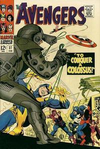 Cover Thumbnail for The Avengers (Marvel, 1963 series) #37 [Regular Edition]