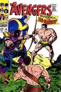 Cover Thumbnail for The Avengers (Marvel, 1963 series) #40 [Regular Edition]