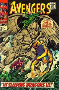 Cover Thumbnail for The Avengers (Marvel, 1963 series) #41 [Regular Edition]