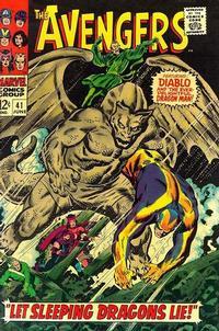 Cover for The Avengers (Marvel, 1963 series) #41 [Regular Edition]