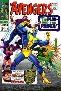 Cover Thumbnail for The Avengers (Marvel, 1963 series) #42 [Regular Edition]