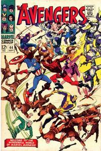 Cover Thumbnail for The Avengers (Marvel, 1963 series) #44 [Regular Edition]