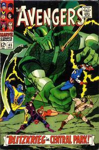 Cover Thumbnail for The Avengers (Marvel, 1963 series) #45 [Regular Edition]