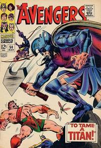 Cover Thumbnail for The Avengers (Marvel, 1963 series) #50