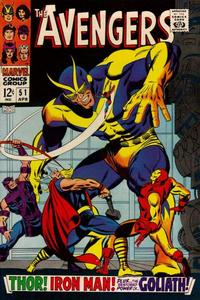 Cover Thumbnail for The Avengers (Marvel, 1963 series) #51