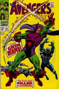 Cover Thumbnail for The Avengers (Marvel, 1963 series) #52