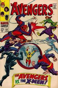 Cover Thumbnail for The Avengers (Marvel, 1963 series) #53