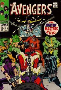 Cover Thumbnail for The Avengers (Marvel, 1963 series) #54