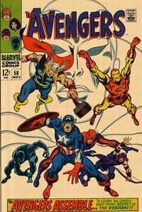 Cover Thumbnail for The Avengers (Marvel, 1963 series) #58