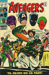 Cover Thumbnail for The Avengers (Marvel, 1963 series) #60