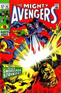 Cover Thumbnail for The Avengers (Marvel, 1963 series) #65 [Regular Edition]