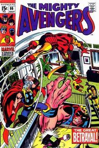 Cover Thumbnail for The Avengers (Marvel, 1963 series) #66 [Regular Edition]