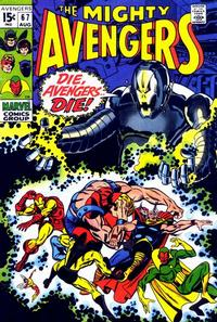 Cover for The Avengers (Marvel, 1963 series) #67 [British]