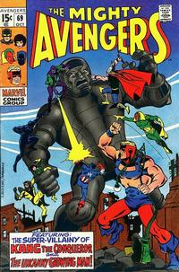 Cover Thumbnail for The Avengers (Marvel, 1963 series) #69 [Regular Edition]