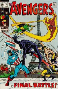 Cover Thumbnail for The Avengers (Marvel, 1963 series) #71