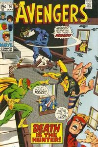 Cover Thumbnail for The Avengers (Marvel, 1963 series) #74 [Regular Edition]