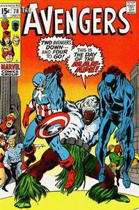 Cover Thumbnail for The Avengers (Marvel, 1963 series) #78 [Regular Edition]