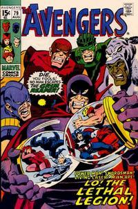 Cover Thumbnail for The Avengers (Marvel, 1963 series) #79 [Regular Edition]