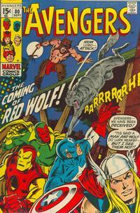 Cover Thumbnail for The Avengers (Marvel, 1963 series) #80 [Regular Edition]